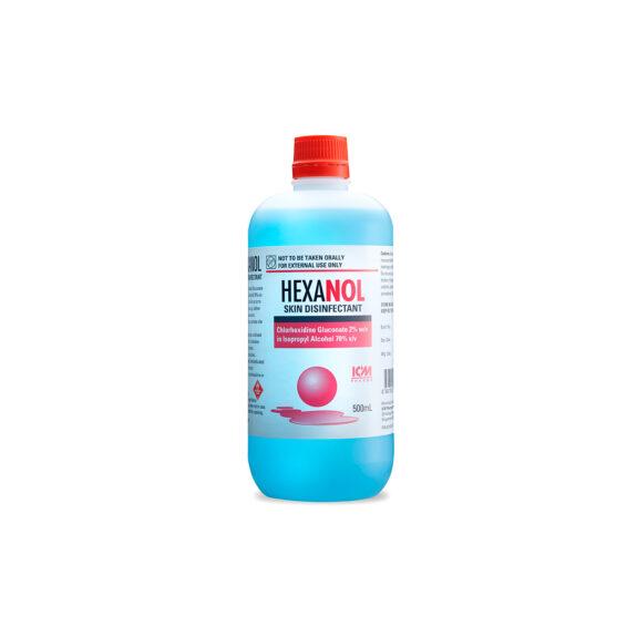Hexanol Skin Disinfectant