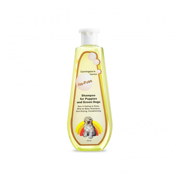 No Fuss Shampoo for Puppies and Grown Dogs