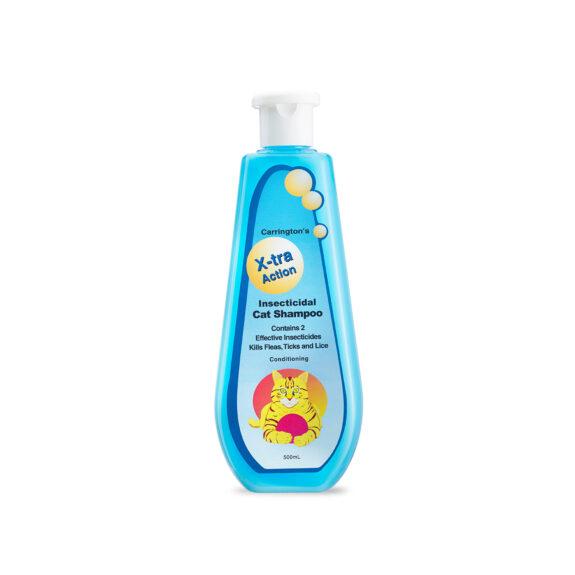 Xtra Action Insecticidal Cat Shampoo