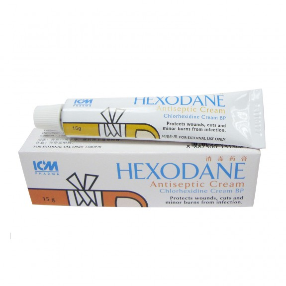 Hexodane Antiseptic Cream, 15g