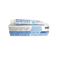 Soragel Antiseptic Pain Relieving Oral Gel, 10g