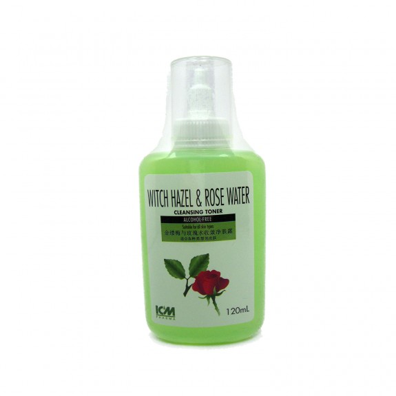 Witch Hazel and Rose Water, 120mL