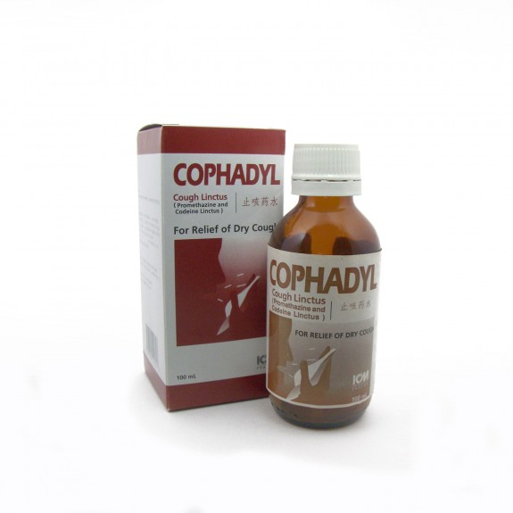 Cophadyl Cough Linctus, 100mL