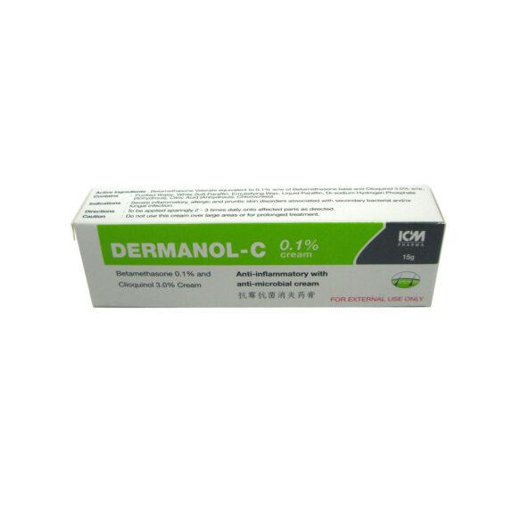 Dermanol-C 0.1% Cream, 15g