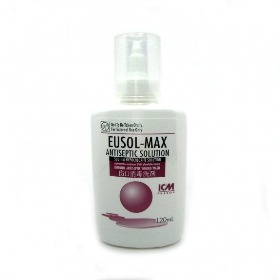 Eusol-Max Antiseptic Solution, 120mL